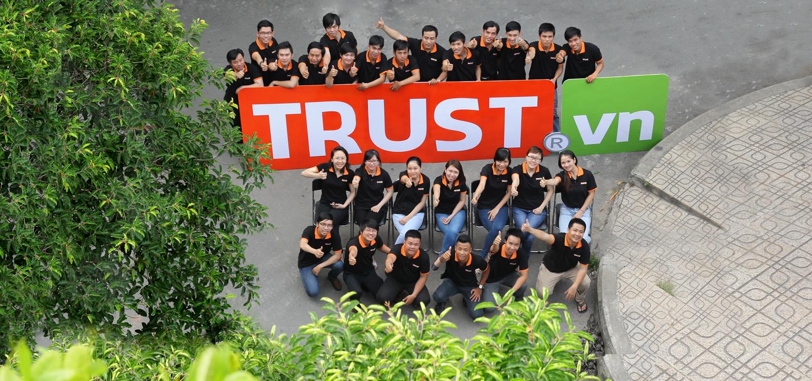 Công ty thiết kế web Trust