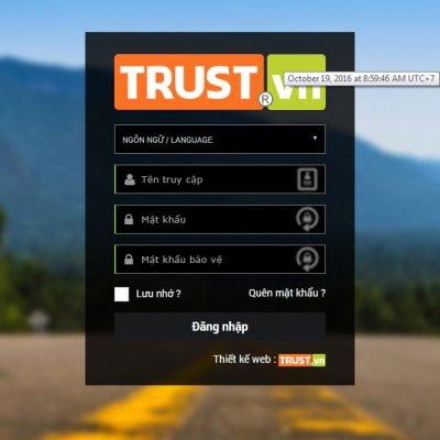 Giao diện chuyên nghiệp cho quản trị web TRUST.vn CMS