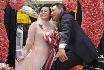 chúc mừng đám cưới Thanh Thảo - nhân viên TRUST.vn