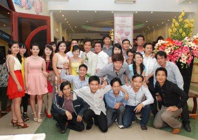 mừng đám cưới Kim Phương